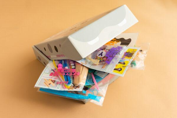 Pudełko kreatywne dla dzieci - Hipopotam