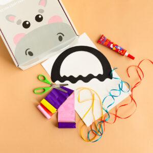 Kreatywny zestaw dla dzieci - witraż