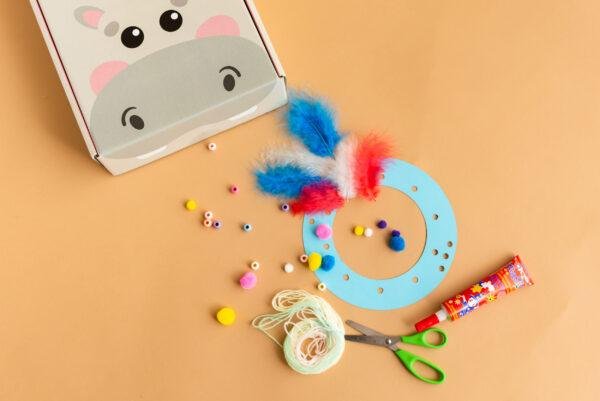 Zestaw kreatywny dla dzieci - łapacz snów